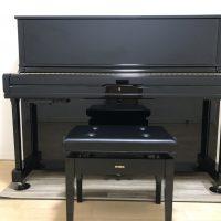 アップライトピアノの防音対策に敷くマット正面