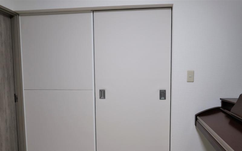 引き戸の防音対策アフター