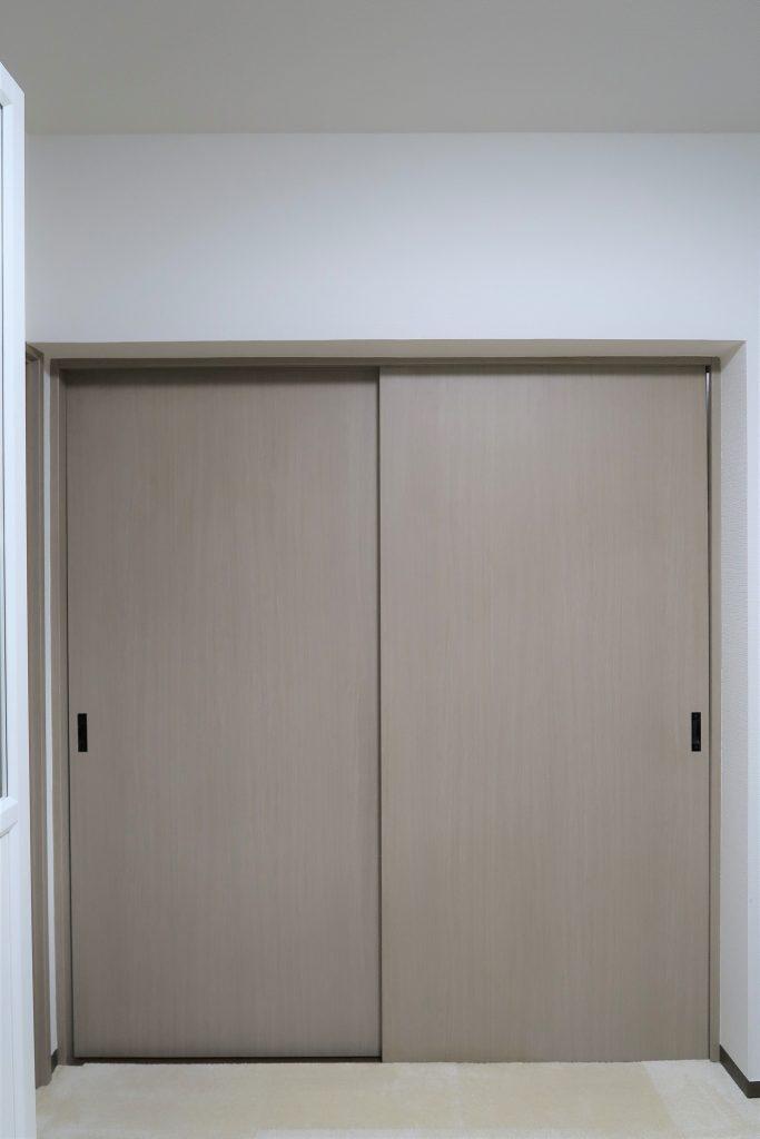 引き戸の防音対策採寸